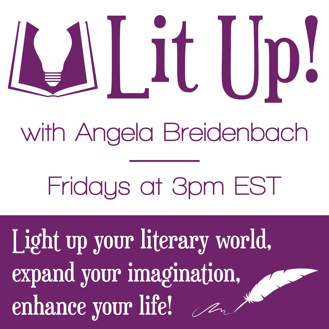 Lit up by angela breidenbach on apple podcasts fandeluxe Choice Image